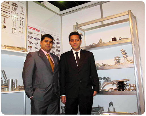 Exhibition conducted by Mr. Alok & Mr. Anand at Dubai